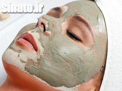 ماسک بنتونیت | ماسک صورت | ماسک برای جوش صورت