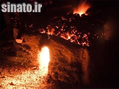 آهک از حرارت دادن چه ماده ای بدست می آید